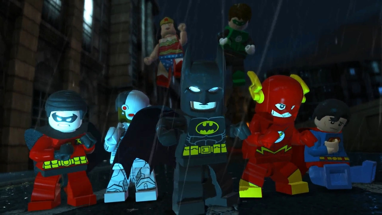 LEGO Batman 2: DC Super Heroes. Глава 15. Союз героев