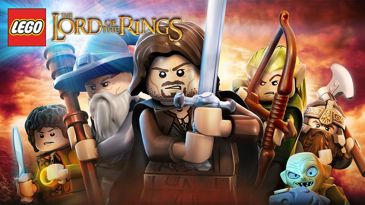 LEGO The Lord of the Rings (свободная игра, 100%)