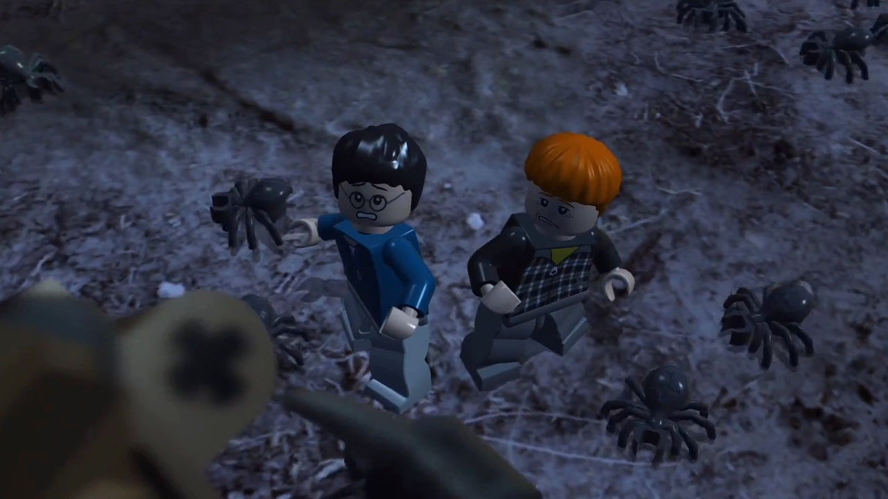 LEGO Harry Potter: Years 1-4. Глава 11. Вслед за пауками (Follow the Spiders)