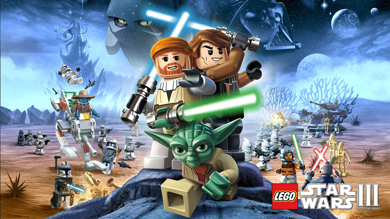 LEGO Star Wars III: The Clone Wars (свободная игра, 100%)