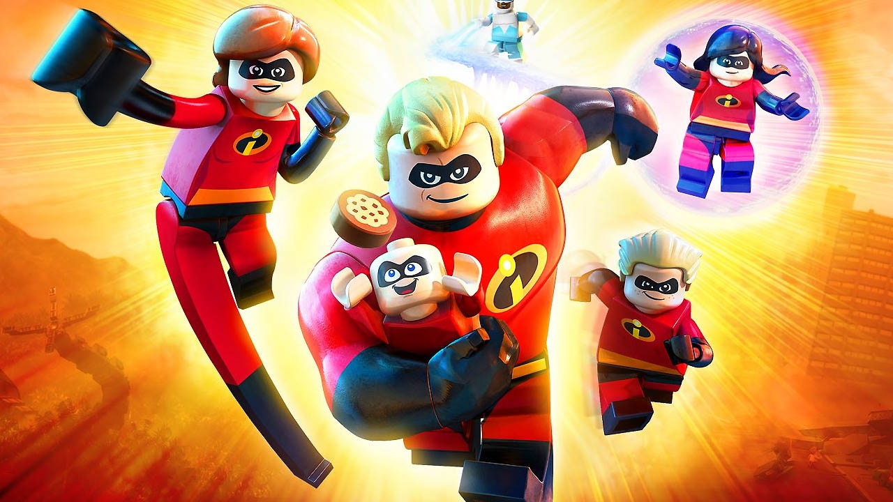LEGO The Incredibles (свободная игра, 100%)