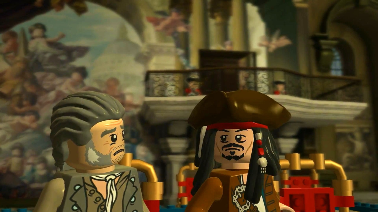 LEGO Pirates of the Caribbean: The Video Game. ГЛАВА 16. Центр Лондона