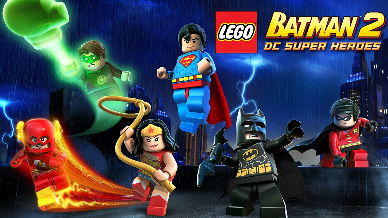LEGO Batman 2 DC Super Heroes (свободная игра, 100%)
