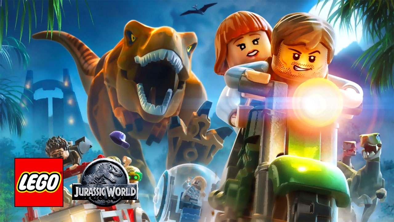 LEGO Jurassic World (свободная игра, 100%)