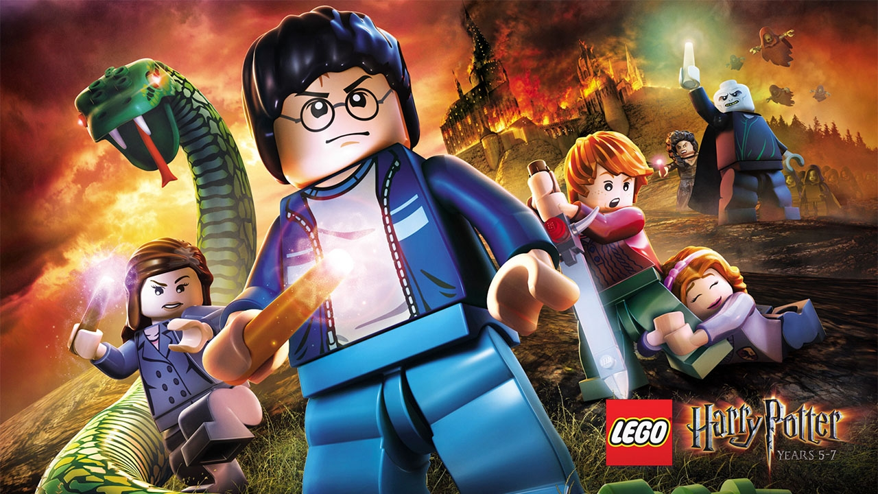 LEGO Harry Potter: Years 5-7 (свободная игра, 100%)