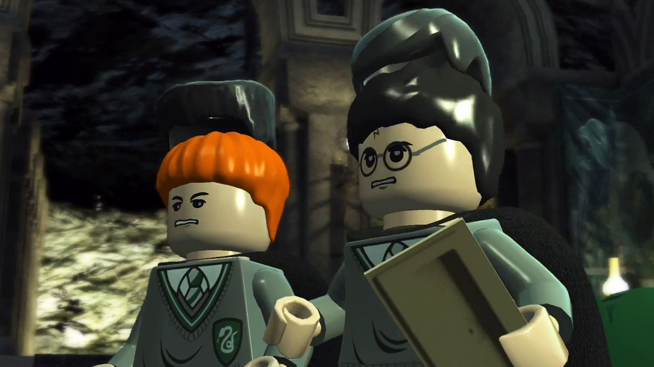 LEGO Harry Potter: Years 1-4. Глава 9. Крэбб и Гойл (Crabbe and Goyle)