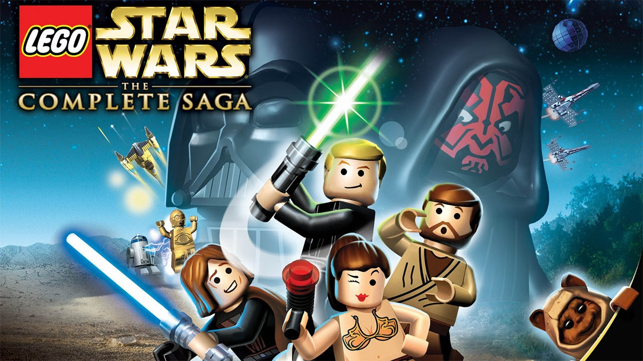 LEGO Star Wars: The Complete Saga (свободная игра, 100%)