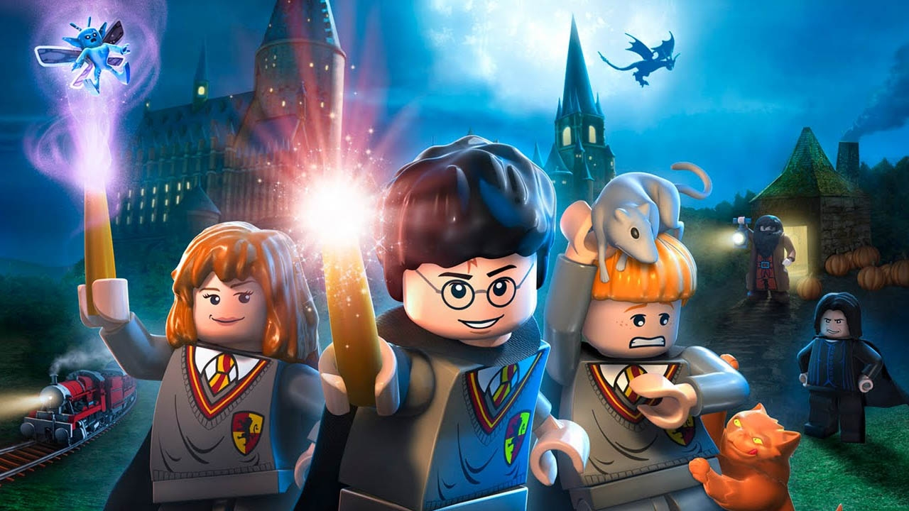 LEGO Harry Potter: Years 1-4 (свободная игра, 100%)