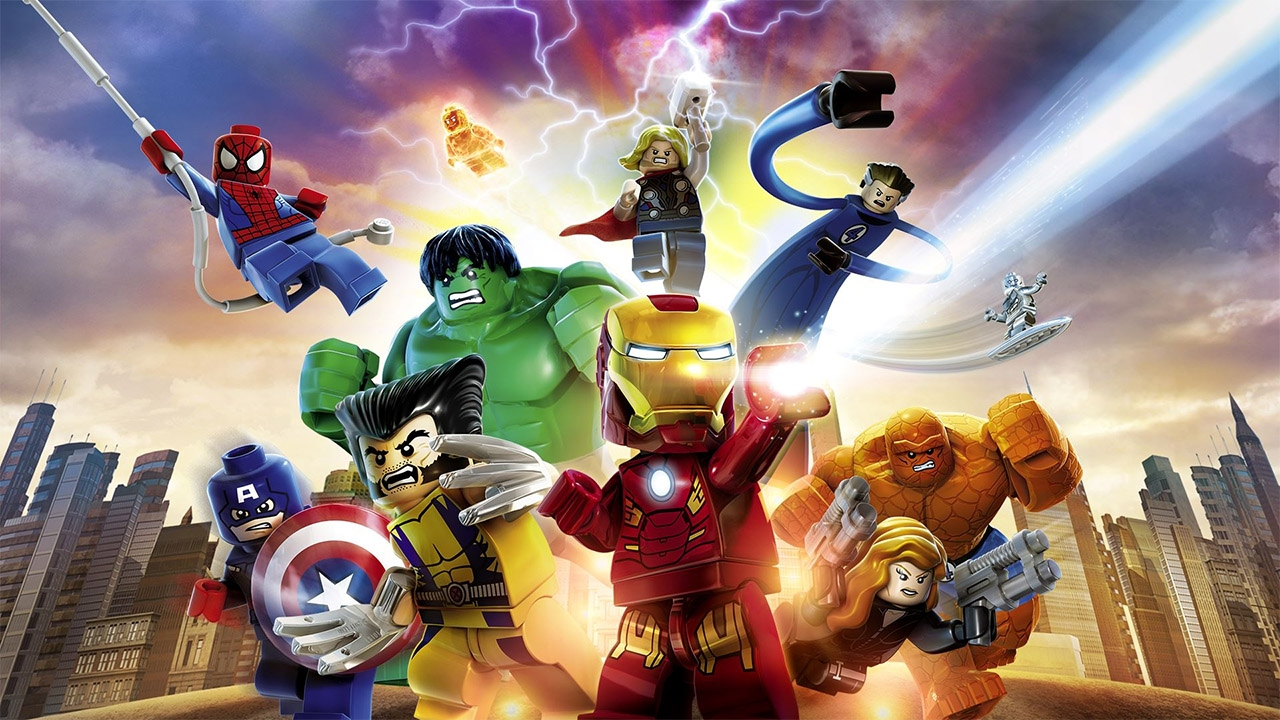 LEGO MARVEL Super Heroes (свободная игра, 100%)
