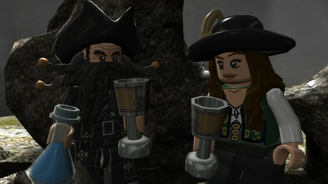 LEGO Pirates of the Caribbean: The Video Game. ГЛАВА 20. Фонтан молодости