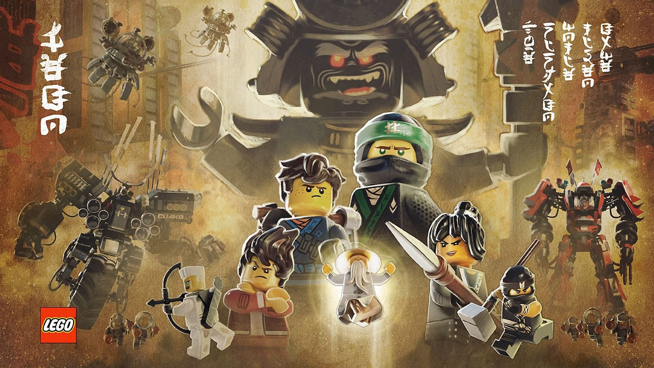 The LEGO NINJAGO Movie Videogame (свободная игра, 100%)