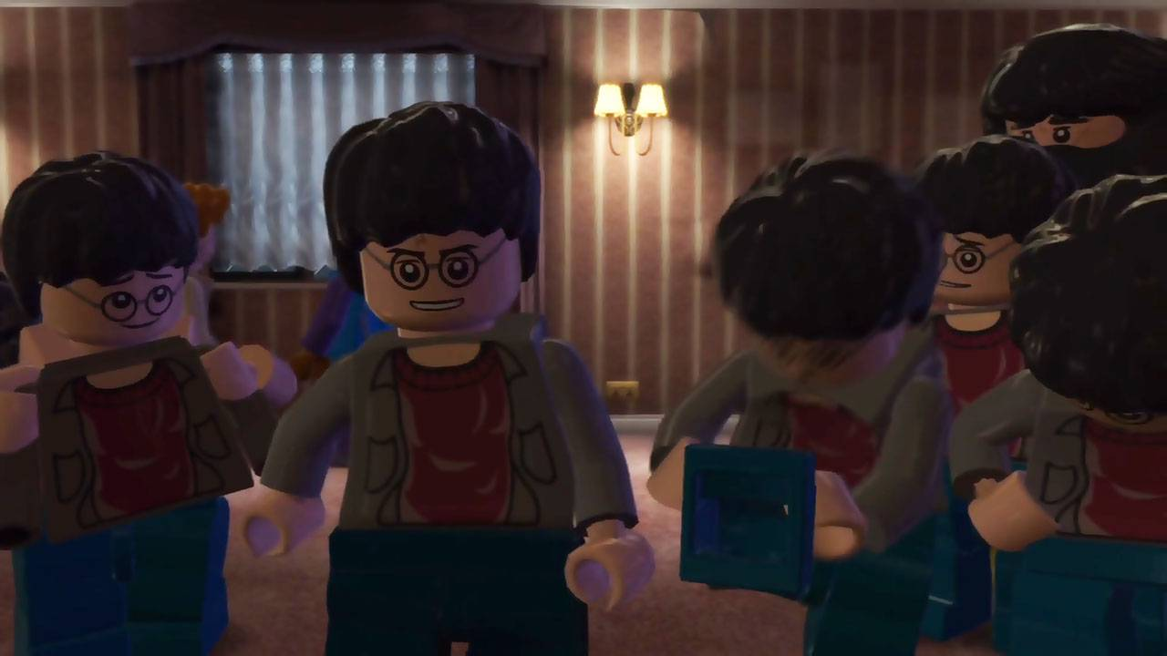 LEGO Harry Potter: Years 5-7. Глава 13. Семь Гарри (The Seven Harrys)