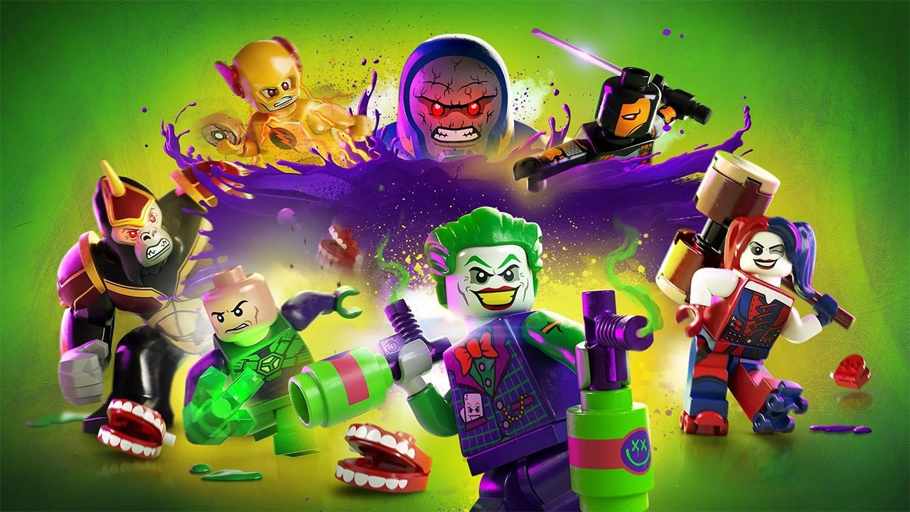 LEGO DC Super-Villains (свободная игра, 100%)