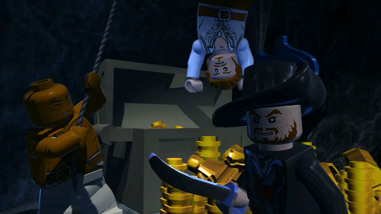 LEGO Pirates of the Caribbean: The Video Game. ГЛАВА 5. Исла дэ Муэрта
