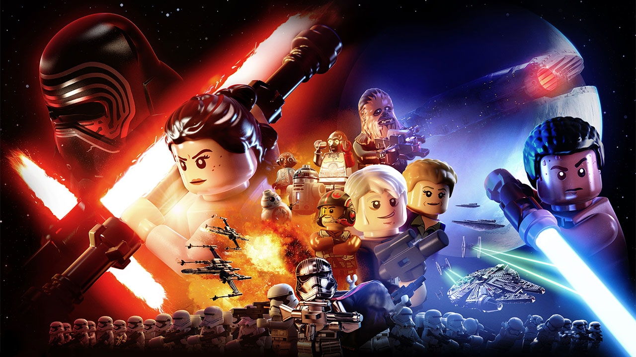 LEGO Star Wars: The Force Awakens (свободная игра, 100%)