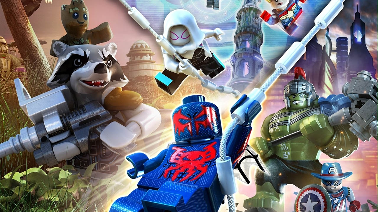 LEGO MARVEL Super Heroes 2 (свободная игра, 100%)